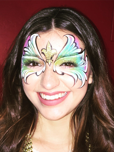 club face painting