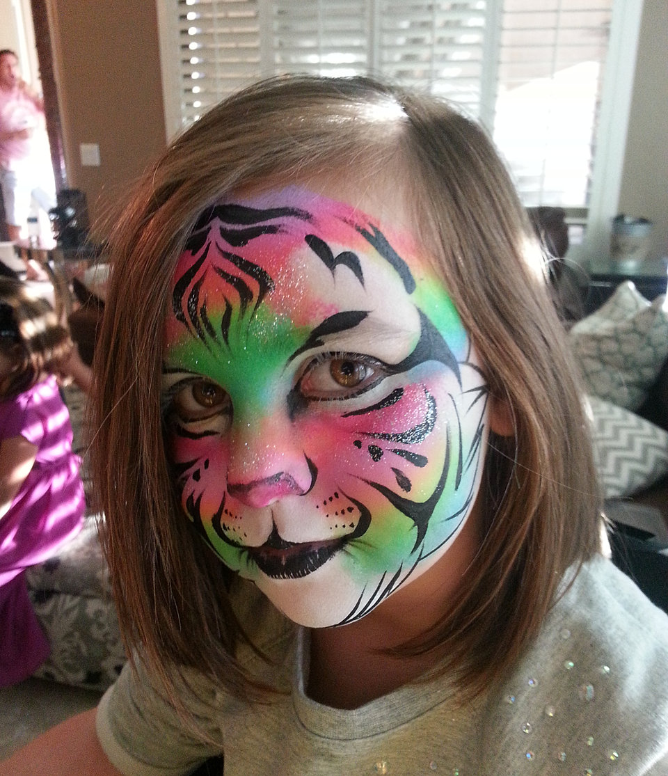 Awesome Paint Primer: Awesome Face Painting Phoenix Chandler Scottsdale Tempe