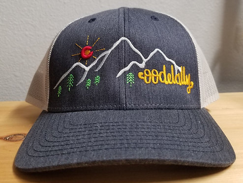 Oodelally Mountain Trucker Snapback