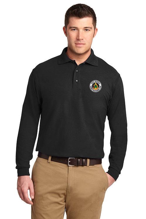 Port Authority Silk Touch Long Sleeve Polo