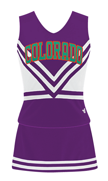 Cheer Uniform Lettering