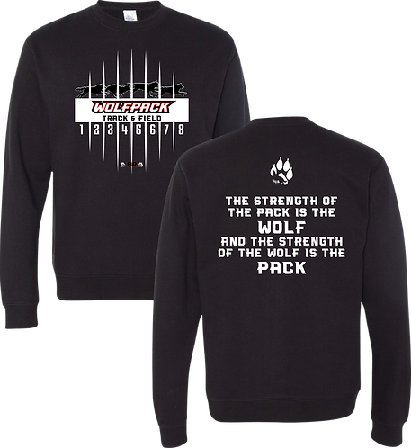 Independent Midweight Pullover Crew Neck Sweatshirt