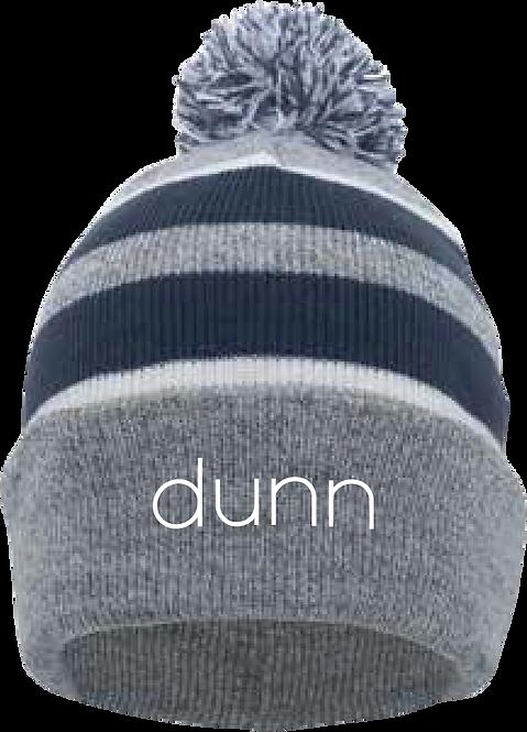 Pacific Headwear Knit Fold Over Pom-Pom Beanie