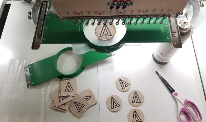 Patch Making Process