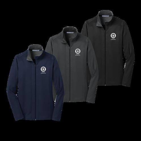 Port Authority Ladies Vertical Texture Full-Zip Jacket