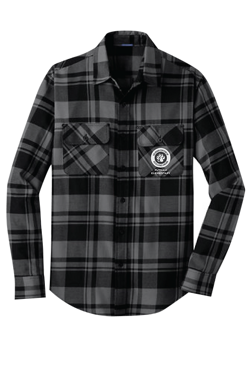 Port Authority Plaid Flannel Tunic