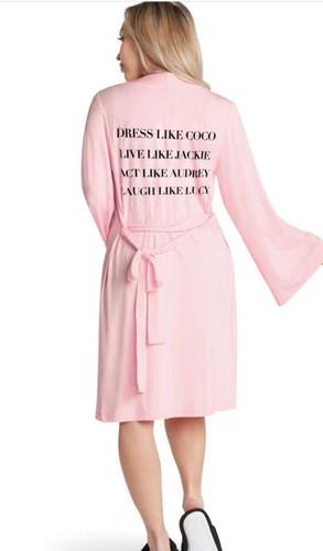 Dress like coco lightweight robe