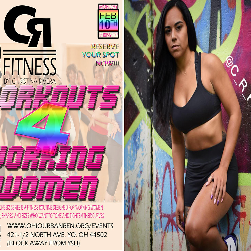 CR Fitness Workouts for Working Women (Powered By MVSN)