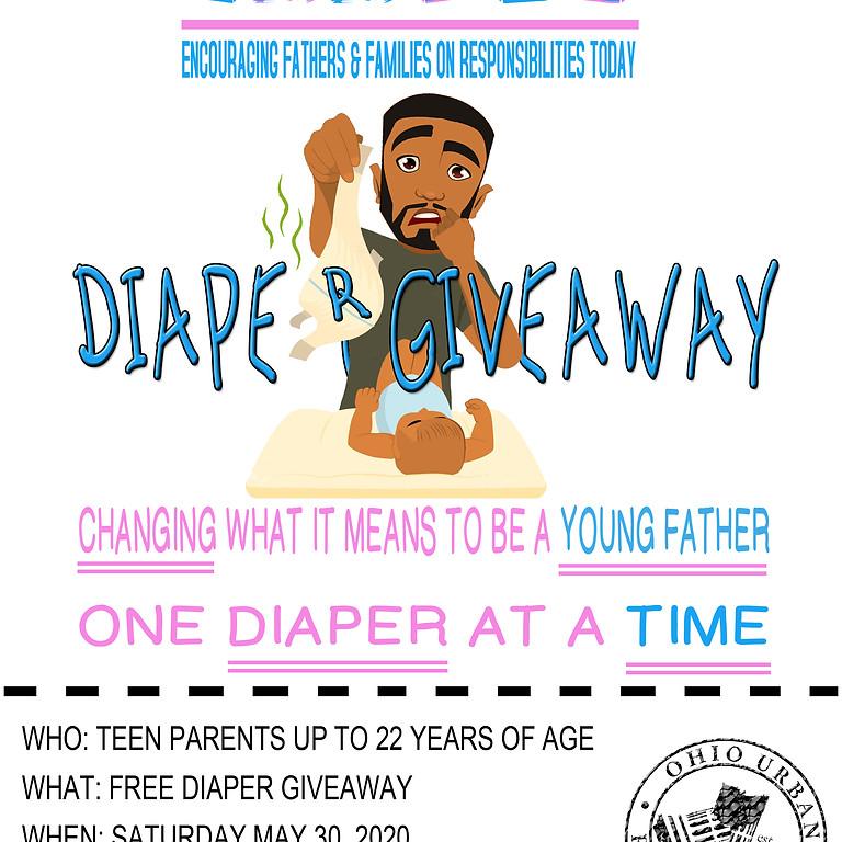E.F.F.O.R.T. Diaper Giveaway