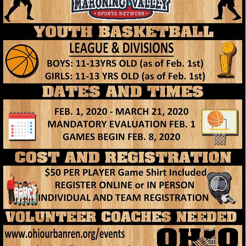 MVSN Youth Jr Basketball League