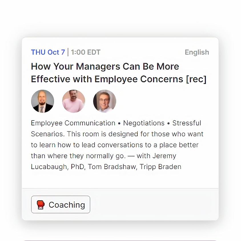 How Your Managers Can Be More Effective with Employee Concerns
