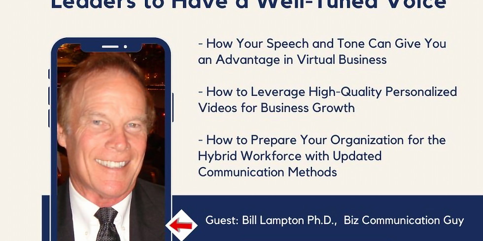 Why It's Important For Leaders to Have a Well-Tuned Voice