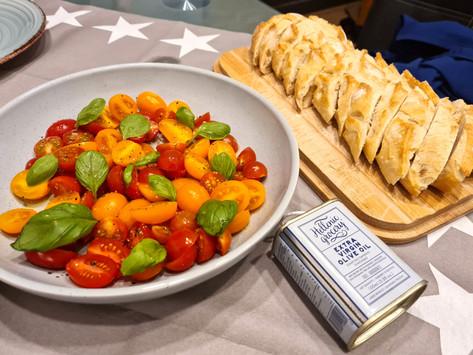 Marinated cherry tomatos