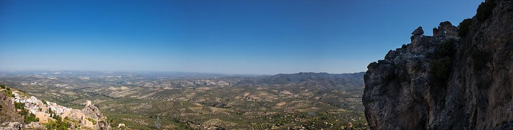 הנוף מהפסגה Via Ferrata La Iruela
