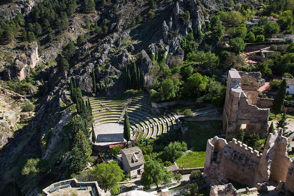 תמונות מהמבצר La iruela