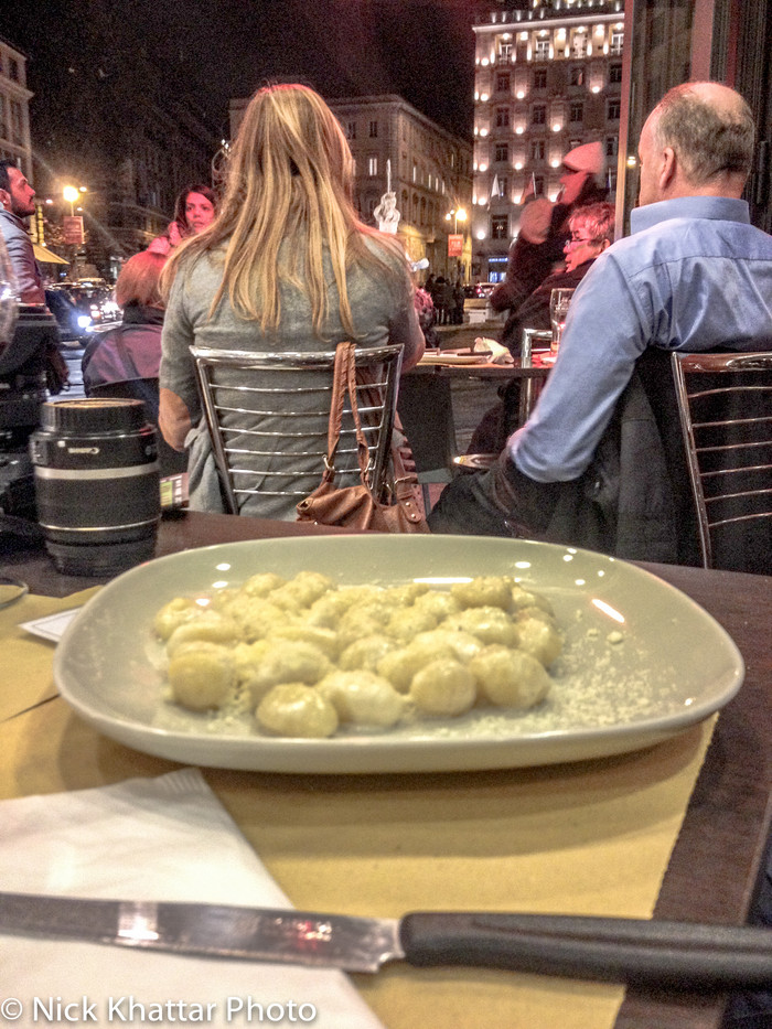 Italy (gnocchi and joe cocker)