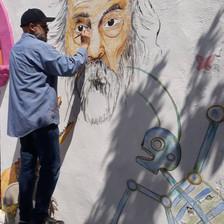 Mural en Parras de la Fuente Coah