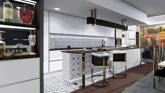 The Trinity Development | Kitchen Bar