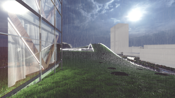 The Artist | Raining