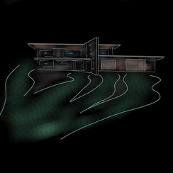 The River House Concept Sketch