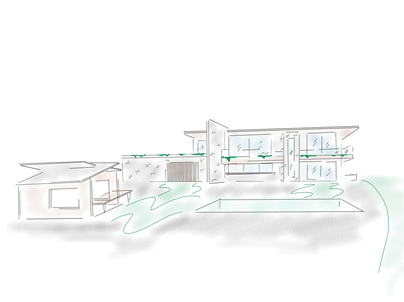 River House Concept Sketch