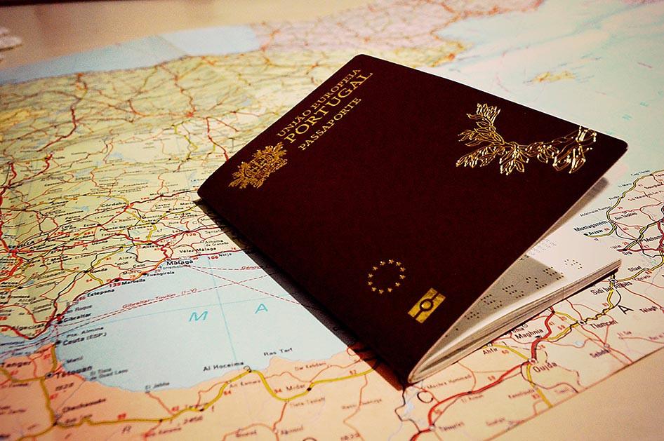 Passaporte cidadania portuguesa