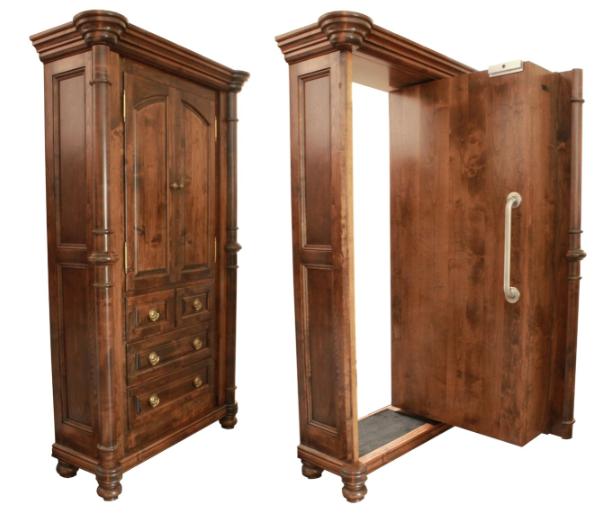 Custom Armoire Cabinet