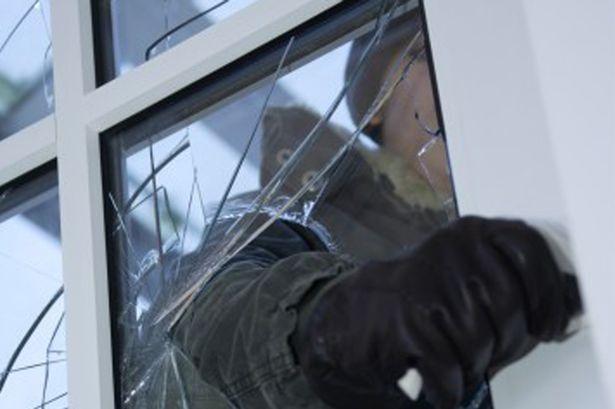 Burglar Break-In