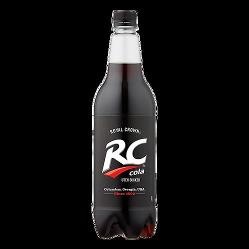 RC Cola uten sukker 1 l