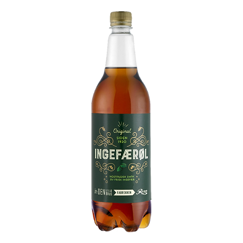 Ingefærøl 1 l