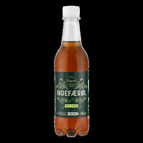Ingefærøl uten sukker 0,5 l