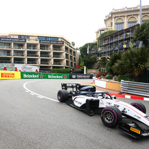 MONACO PRACTICE AND QUALIFYING REPORT FOR AMERICAN JUAN MANUEL CORREA