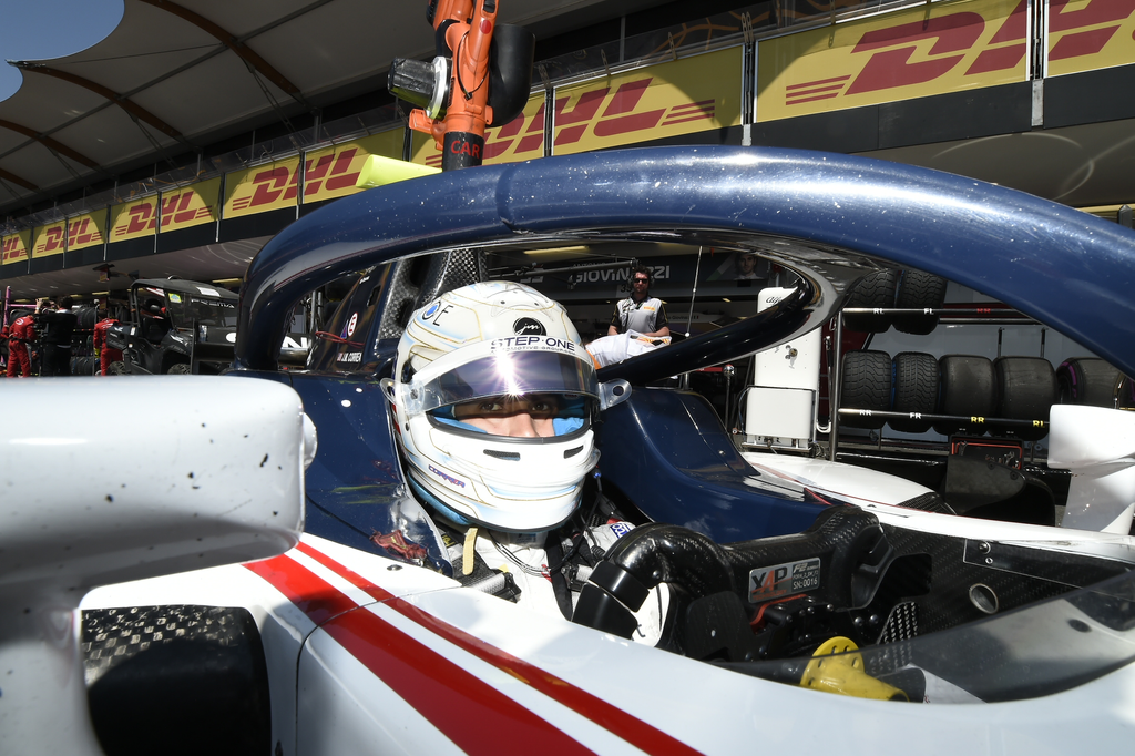 FIRST POINTS FOR JUAN MANUEL CORREA IN FIA FORMULA 2