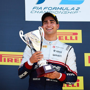 CORREA ADDS A PODIUM FINISH IN FRANCE