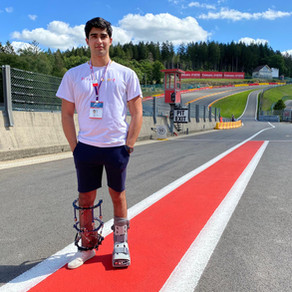 Juan Manuel Correa Returns to Spa One Year After Horrific Crash to Pay Tribute to Anthoine