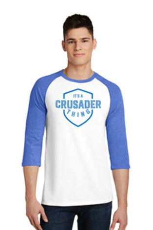 It's a Crusaer Thing T-shirt / 3/4 Sleeve