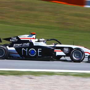 Campeonato FIA de Fórmula 3. Juan Manuel Correa 14º en la última carrera del fin de semana