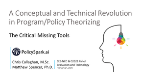 Canadian Evaluation Society Eval & Tech February 2021