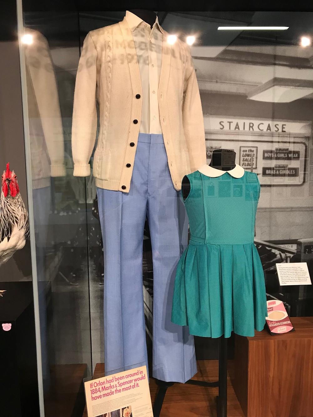 1970s menswear and childrenswear