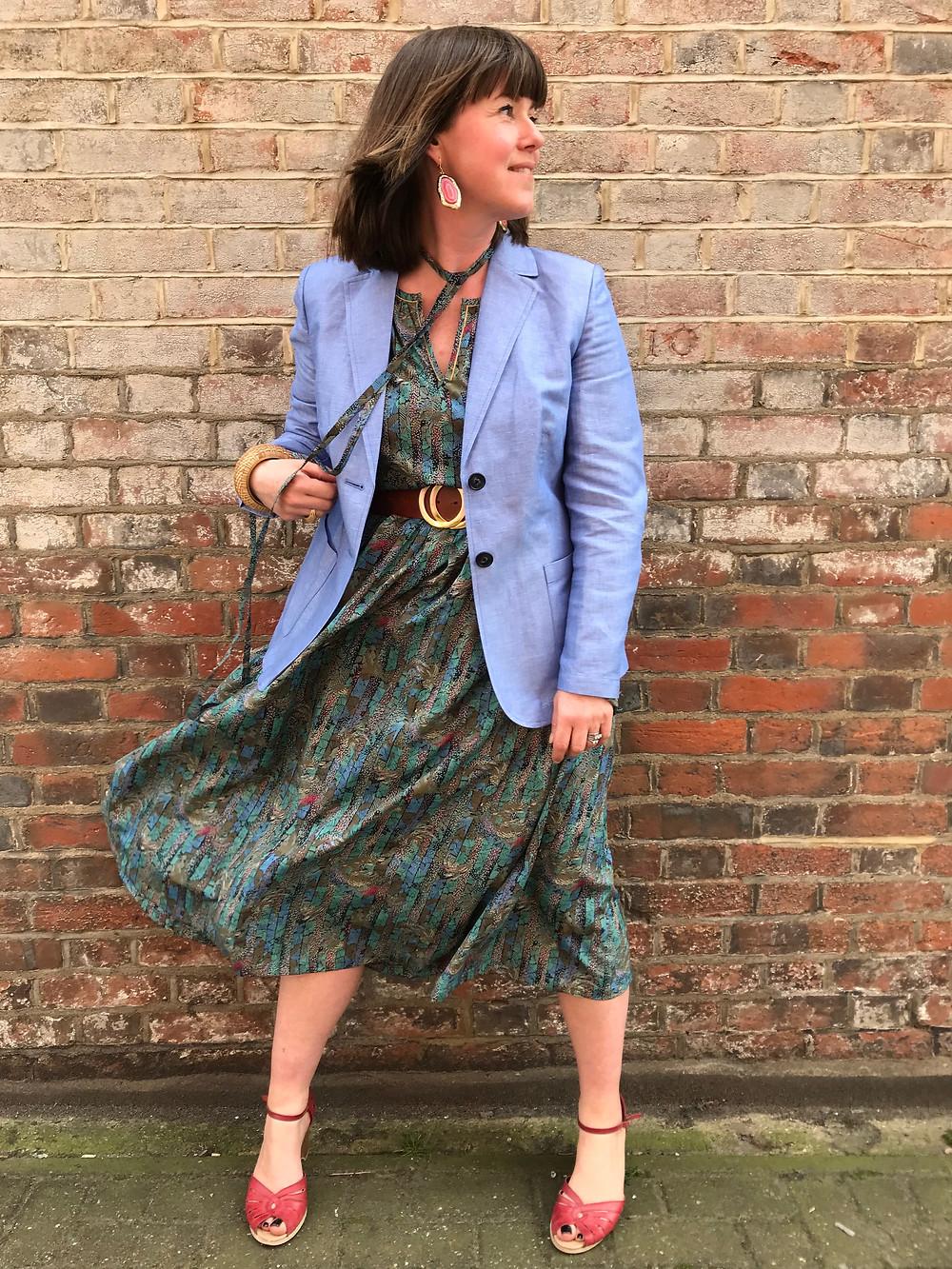 M&S Collection linen blazer