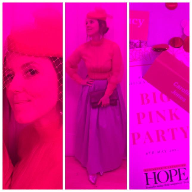 Pink, Purdey & Hope.