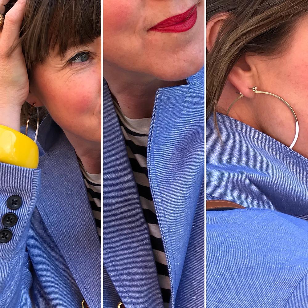 M&S Collection blazer details