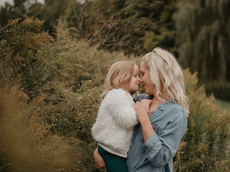 Sarah & Rolande | Mommy Daughter Shoot | CC, IN