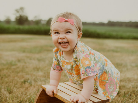 Miss Ava | 9 Month Shoot |