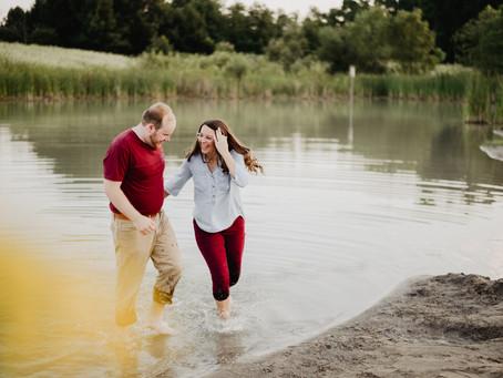 Sam + Tyler | Engagement | Fort Wayne, IN