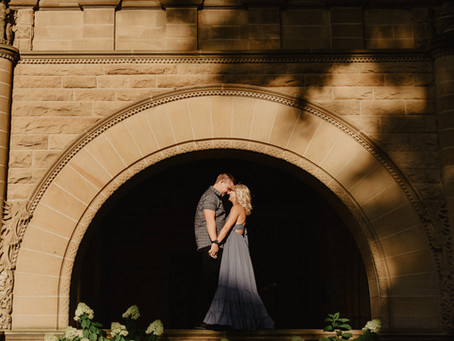 Makelle + Brian | Engagement | Fort Wayne, IN