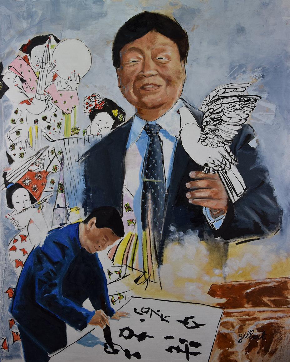 WANG Xijing portrait par François GILBERT