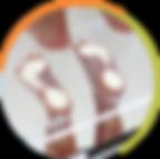 São utilizadas no tratamento de alterações de postura e dores articulares de membros inferiores e coluna. Elas são proprioceptivas, isto é, possuem a capacidade de reconhecer a posição e orientação do corpo, assim como a força exercida por ele, e fazem com que a distribuição de carga seja dividida de forma correta por toda a planta do pé, melhorando e normalizando os estímulos do Sistema Nervoso Central que controlam a dor, equilíbrio e postura.