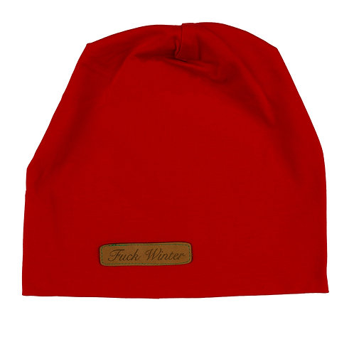 Summer Beanie Red