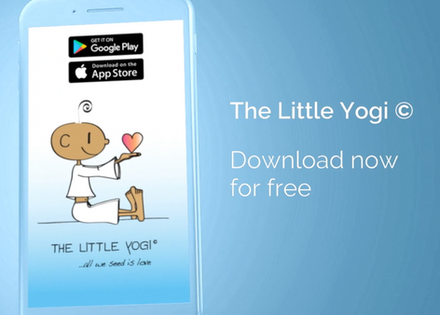The Little Yogi App - Now available in English!